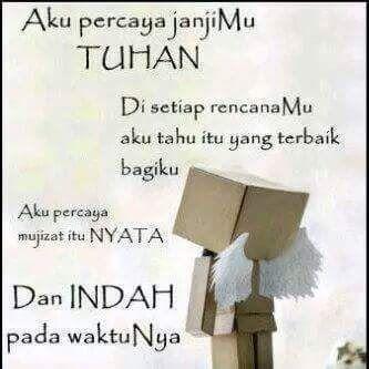 Tak ada yang mustahil bagi Tuhan