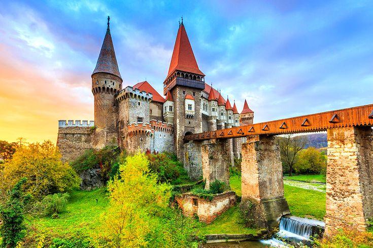 Slottet Corvin i Rumänien #corvin #castle #slott #rumänien #romania