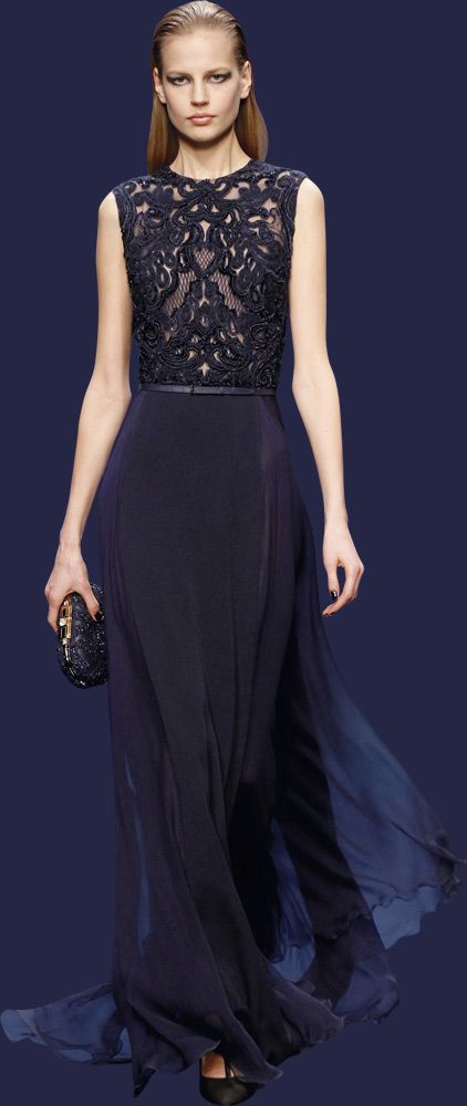 106 best Elie Saab images on Pinterest   High fashion, Evening gowns ...
