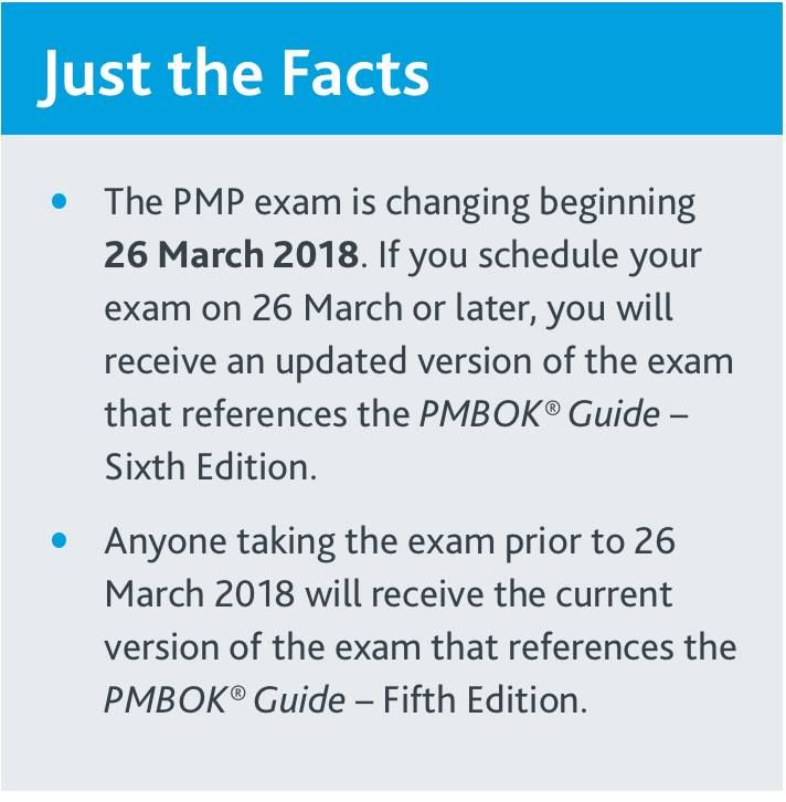 Finally ! Great News ! PMP Exam will be change from 26 March 2018 ! #PMP #PMP_EXAM #PMP_EXAM_SIMULATOR #PMaspire www.pmaspire.com
