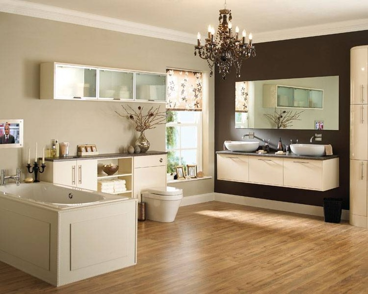 Glendevon Cream - Bathroom Ranges - Bathroom Cabinet Collection - Howdens Joinery