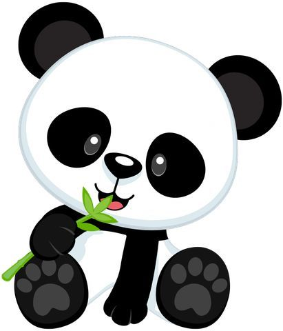 Resultado de imagen para 0s0s pandas en foami | cositas para ...