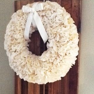 diy autumn coffee filter wreath little big nest coffee filter wreath ...