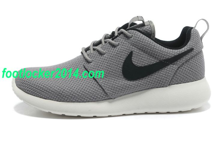 new product bdb3e 0154c ... official 20f502 mens nike roshe run gray black 49.45 18c86 7634b
