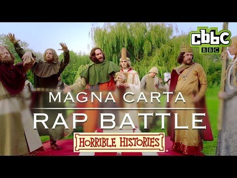 Horrible Histories - Epic Magna Carta Rap Battle - CBBC - YouTube
