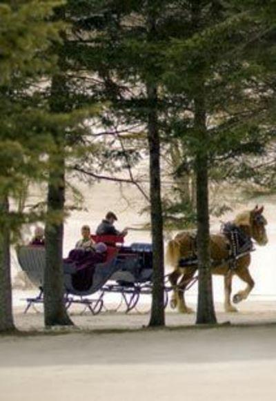 Sleigh Rides, Bretton Woods, NH - Mount Washington Resort - Austrian Sleigh