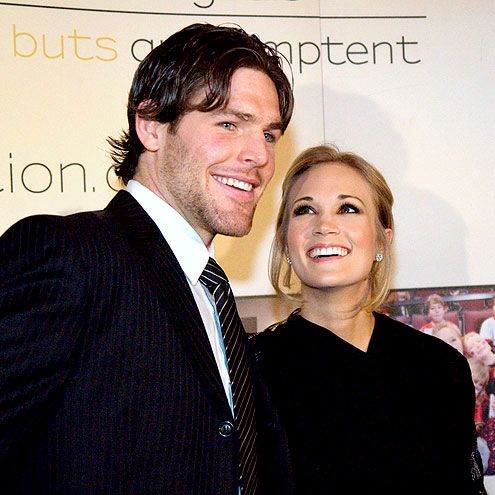 After two years of dating, Nashville Predators hockey player Mike Fisher made a Southern bride out of Carrie Underwood.