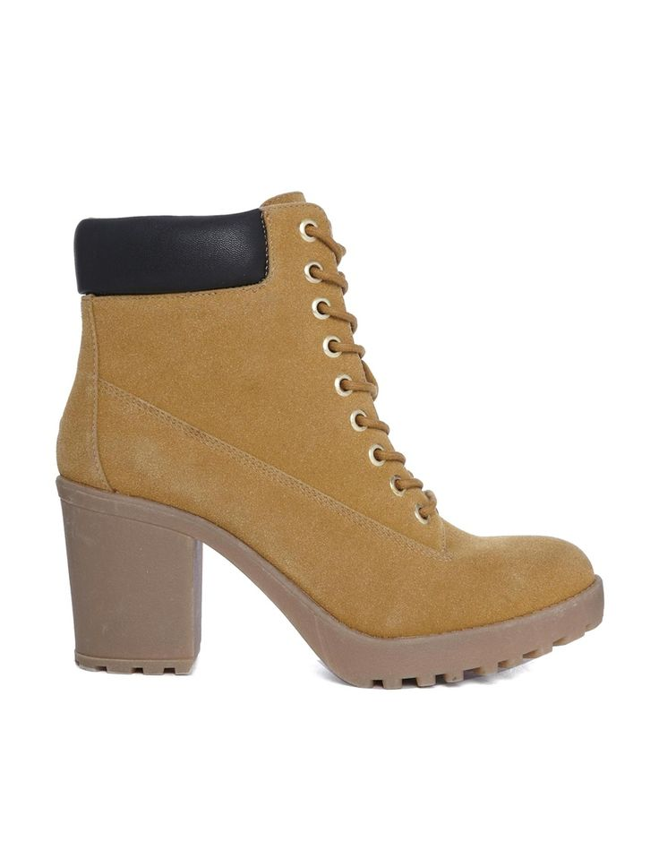 timberland style heels