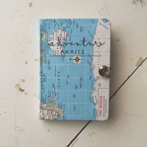 29 best sojournals images on pinterest notebook travel journals adventure awaits old world map travel journal on etsy 2900 gumiabroncs Choice Image
