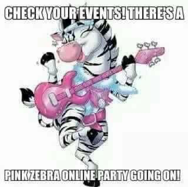 Pink zebra party games