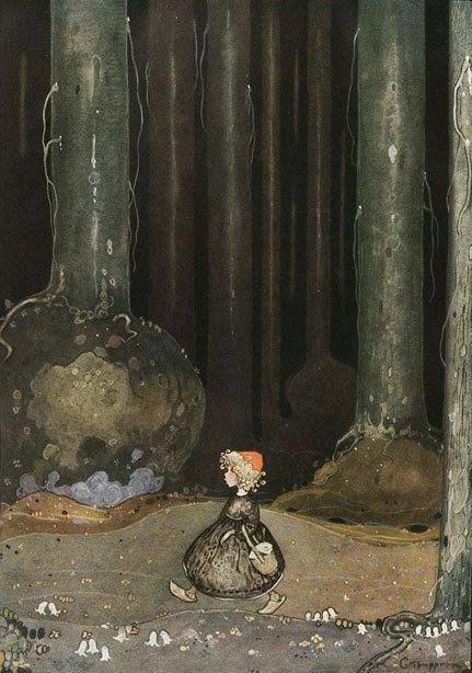 John Bauer «Swedish Folk Tales»Иллюстратор John Bauer Шведские сказки Страна Швеция Год издания 1907-1915