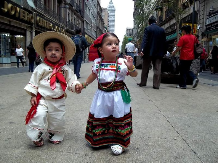Mexican toddlers. How cute!