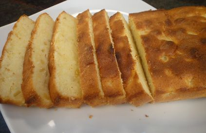 Step by Step instructions on how to make fresh Pineapple Loaf.