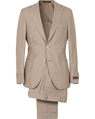Morris Heritage Edward Oxford Suit Khaki