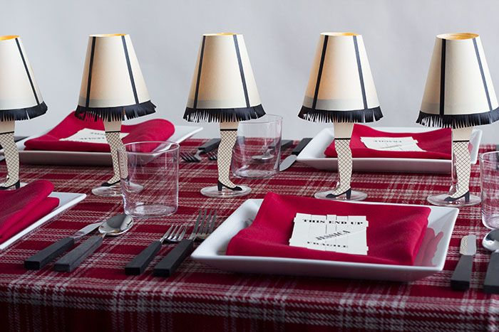 A Christmas Story-Inpired Fete by David Stark Design at Design*Sponge