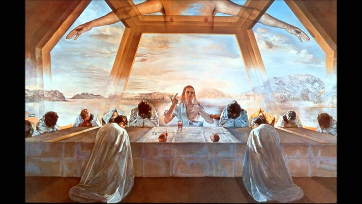 The Sacrament of the Last Supper, 1955, Salvador Dali in ...