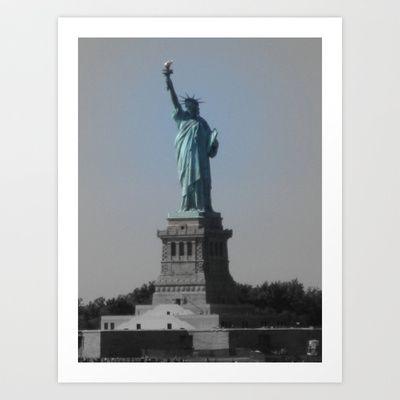 Liberty Art Print by Jaana - $17.00