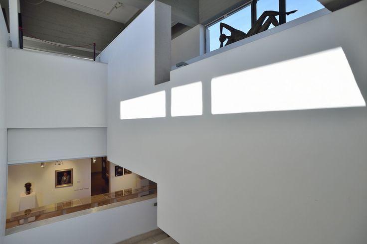 Museo Revoltella, Trieste. Tra quinto e sesto piano. Foto Mattia Visintini.