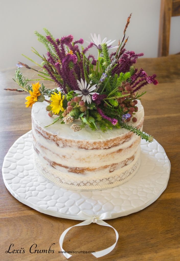 Fynbos naked cake www.lexiscrumbs.com