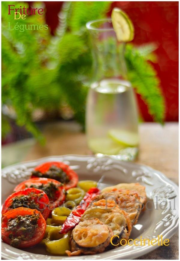 Friture de légumes