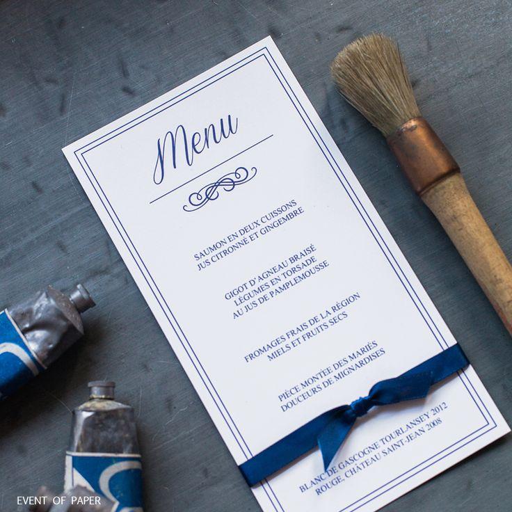 classique - élégant - bleu royal - chic - luxe …