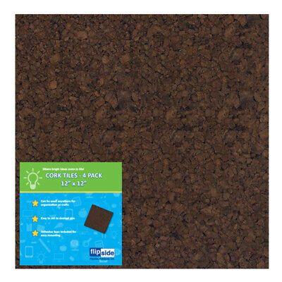 12x12 Dark Cork Squares 4 Pk Fashion Home Garden Homedcor Messageboardsholders Ebay Link In 2020 Cork Tiles Cork Board Tiles Cork Panels