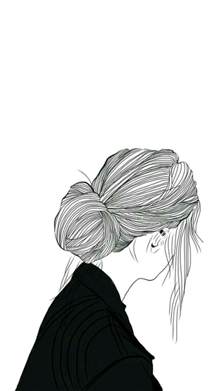 Dessin Fille Noir Et Blanc : dessin, fille, blanc, Photos, Dessin, Blanc, Aider, Améliorer, Votre, Technique, Blanc,, Photo, Dessin,, Visage