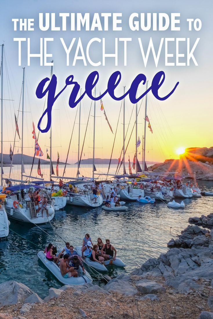 The Yacht Week Greece is the most well-balanced route of them all. You get the gorgeous sailing experience, incredible island destinations, delicious Greek food and fun parties. You definitely have one of the liveliest nightlife and party scenes compared to other routes.