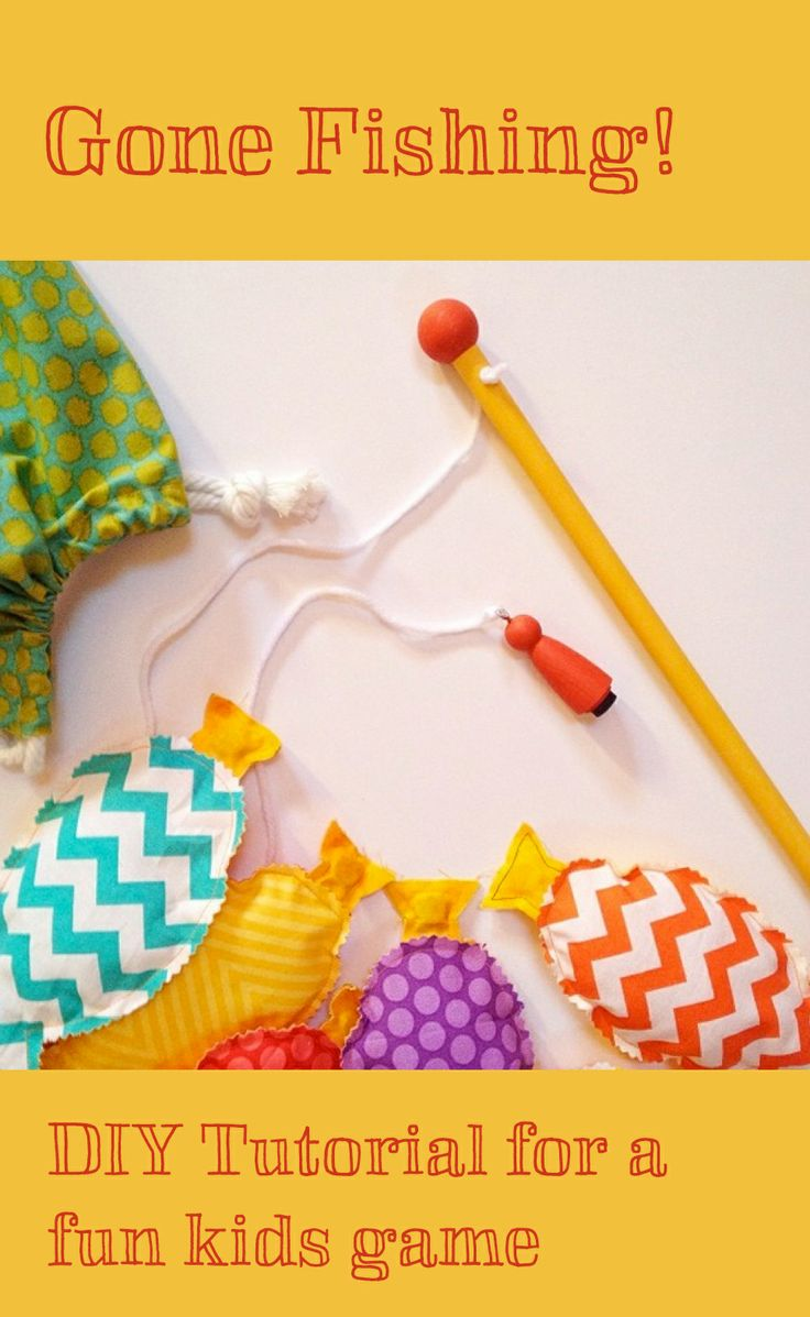 17 best ideas about fishing pole craft on pinterest for Gone fishing game