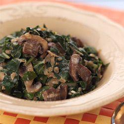 Mushroom and spinach (veg)