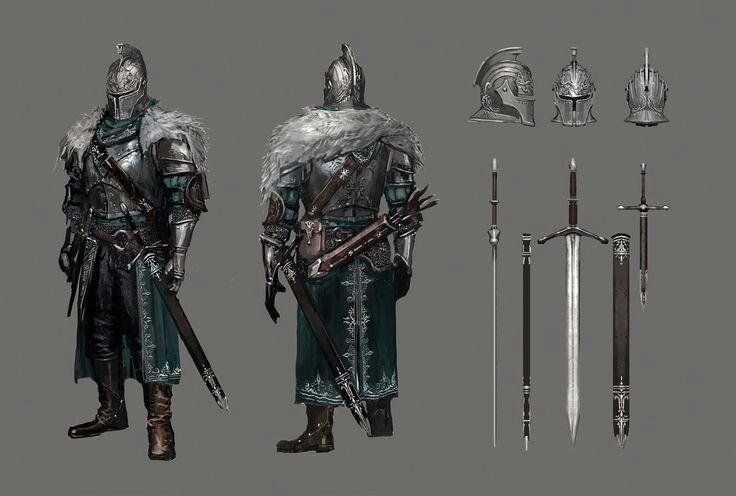 Dark souls 3 lothric knight sword