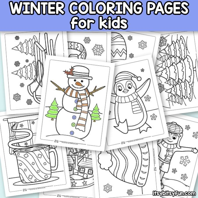 Winter Coloring Pages Itsybitsyfun Com Coloring Pages Winter Free Printable Coloring Pages Coloring Pages
