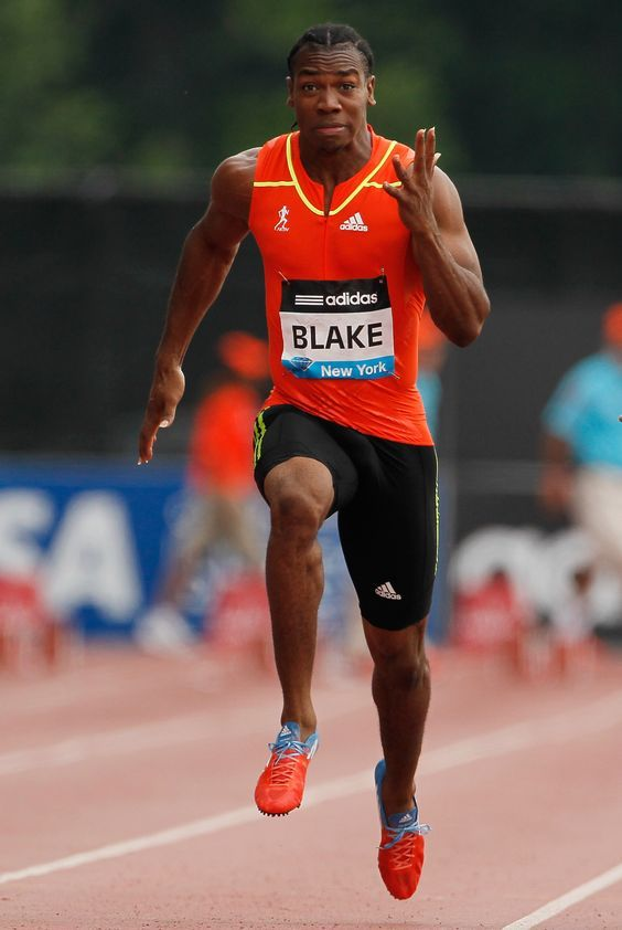 Yohan Blake, track and field! Hang in there bud,im gonna run like u thru  out my track and field!