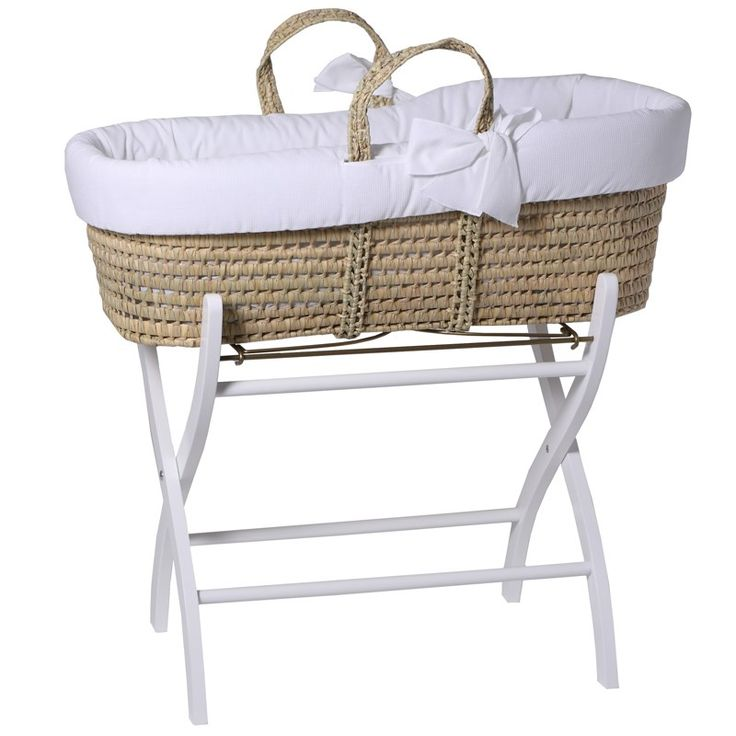 From Tartine et Chocolat, this handy moses basket stand will ensure that your baby is at the perfect height for changing and layin