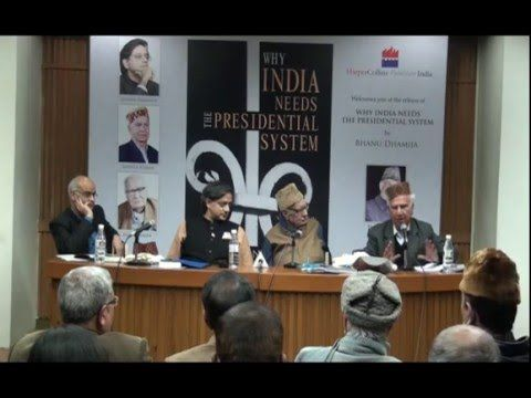 Tharoor Remarks on Why India Needs the Presidential System | The Presidential System