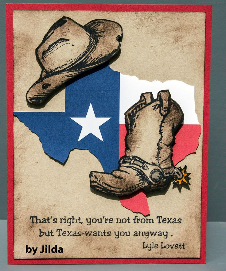 52 best cards texas images on pinterest midland texas stamping texana designs sample by dtm jilda bolton using our texana designs hat boot and xmas cardsgreeting m4hsunfo