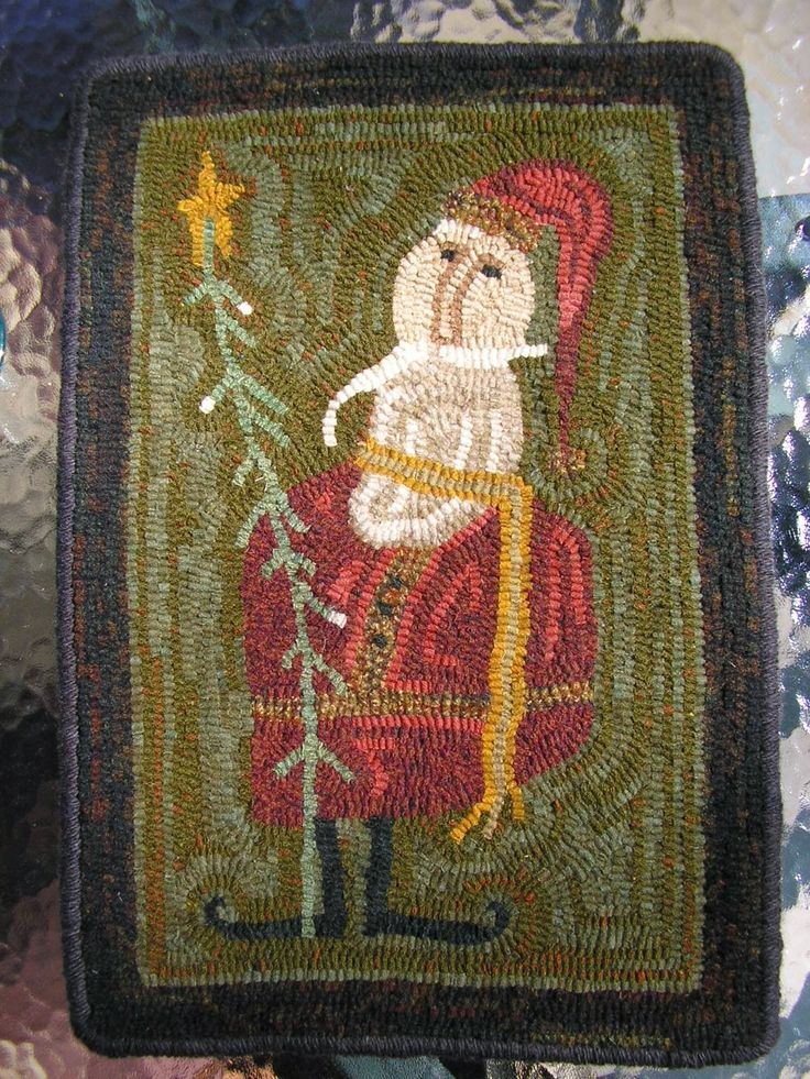 17 Best Images About Primative Wool Rug Hooking On