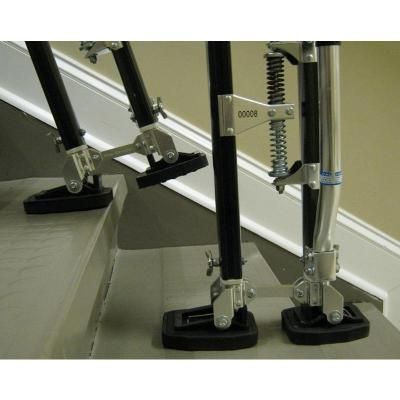 Tru-Stride 24-40 in. Adjustable Drywall Stilts-TS-2440 - The Home Depot