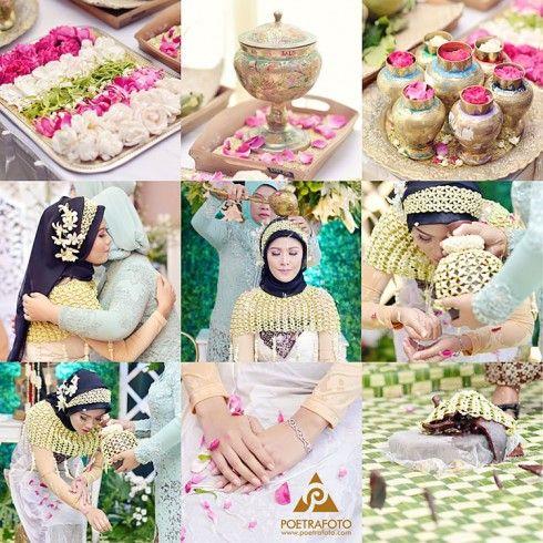 Foto Siraman Pengantin Wanita Pernikahan Adat Jawa Jogja