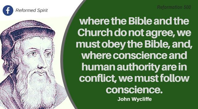 John Wycliffe (1331 –1384) was an English theologian, lay preacher, translator, reformer and university teacher at Oxford in England. He was an influential dissident in the Roman Catholic Church during the 14th century. The Lollard movement was a precursor to the Protestant Reformation. Wycliffe was an early advocate for translation of the Bible into the common language. He completed his translation directly from the Vulgate into vernacular English in the year 1382, known as Wycliffe's…