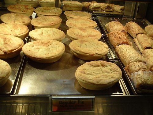 Delicious meat pies from New Zealand