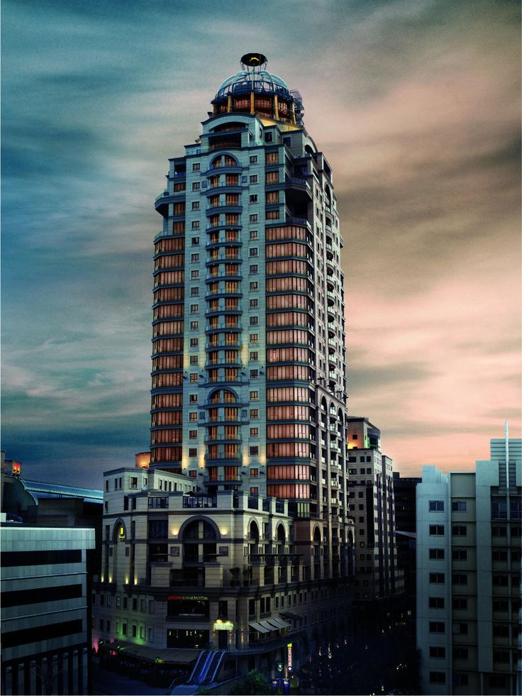 Michelangelo Towers Location: Sandton, Johannesburg, Gauteng, South Africa