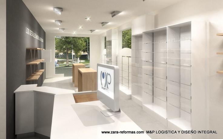Proyecto de estanco, infografia y mobiliario M LOGISTICA Y DISEÑO INTEGRAL, Obra Zarareformas