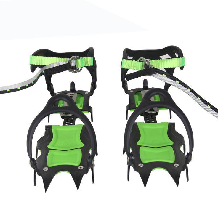 BRS Arrampicata Lungo Seghettato Ramponi Racchette Da Neve Tacchetti Expedition Ice Gripper BRS-S1A