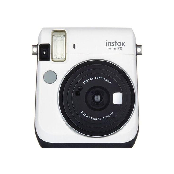 Appareil Photo Instantané Instax Mini 70 Blanc – Taille : Taille Unique