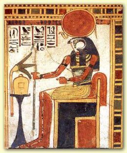 """Amen-Ra is the living force that dwells around all living things and lives within all beings. He is also the Father of of the Gods and the Ruler of the Universe who constructed himself out of Chaos(NuN); [Big Bang]""  A very interesting history on the subject of Amen."