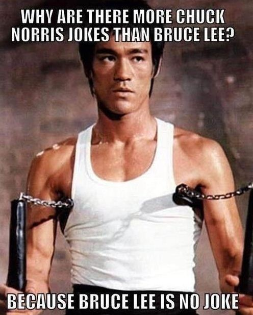 Bruce Lee no joke