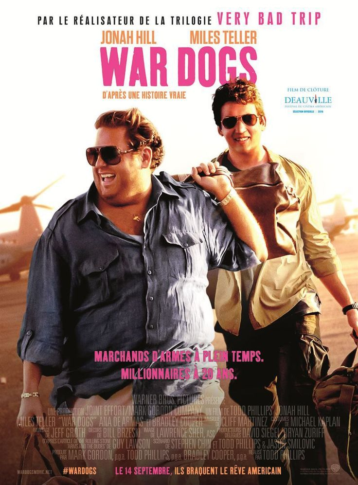 War Dogs. Good movie about two young guys making money on US govt contracts.