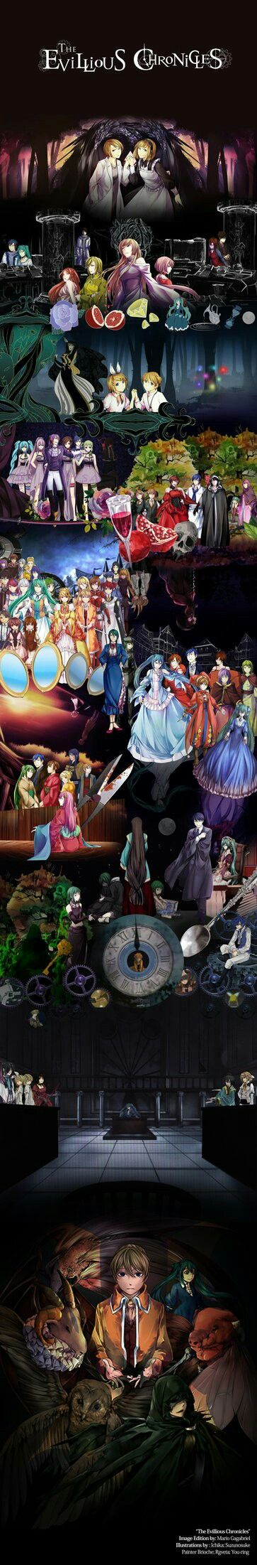 The Evillious Chronicles By: MarioGagabriel