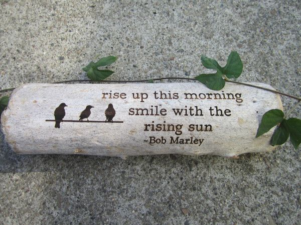start your morning with a bit of encouragement from Bob and these sweet little birdies. all driftwood is found along the California coastlines in and around the San Francisco Bay. each piece is 100% u